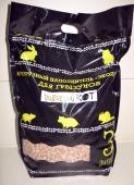 Наполнитель Золотой кот для грызунов и кроликов прессованные гранулы 3л